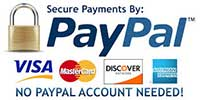 Paypal and Credit card Payment